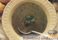 Суп из цуккини и кресс-салата