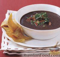 Пикантный суп из фасоли