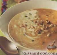 Зимний суп из риса и тыквы