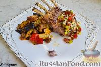 Каре ягненка с тёплым картофельным салатом