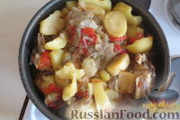 Тава (картофель с говядиной, баклажанами и помидорами)