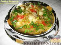 Овощной летний суп