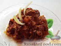 Рагу из мяса с овощами и зеленью