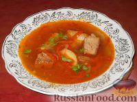 Каурма-шурпа по-узбекски