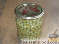 Зеленый горошек консервированный. Способ 2