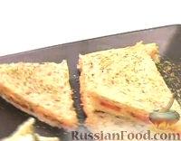 Сэндвич с сыром и яйцами