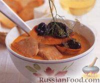 Рыбный суп с помидорами и фенхелем