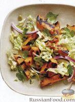 Салат из батата и китайской капусты