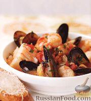 Рагу из морепродуктов