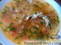 """Суп """"Харчо"""" со свежими помидорами"""