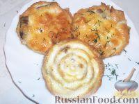 Рыбка в сырном суфле