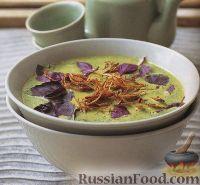 Куриный суп-пюре на кокосовом молоке