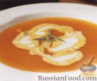 Суп-пюре из крабов и помидоров