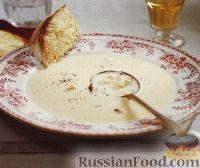 Крабовый суп-пюре