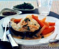 Треска с овощами (на пару)