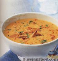 Луково-миндальный суп-пюре
