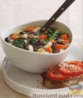 Фасолевый суп с капустой