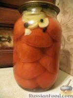 Дольки помидоров в желатиновой заливке