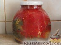 Печеные баклажаны с томатом