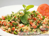 Табуле - ливанский салат с булгуром