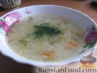Пшённый суп с консервой