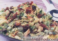 Овощной салат с брюссельской капустой