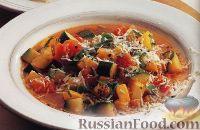 Овощной суп с сыром