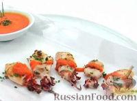 Кальмары под острым соусом