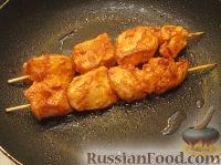 Куриный шашлычок в красном маринаде