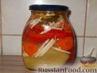 Перец, маринованный с маслом (болгарский способ)