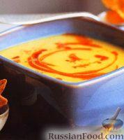 Суп-пюре из нута, ветчины и овощей