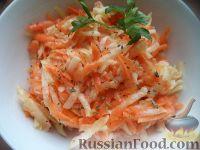 Салат из моркови с редькой