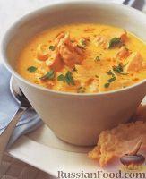 Рыбный суп карри