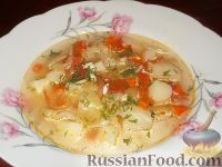 Щи из свежей капусты (постные)
