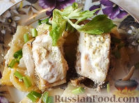 Окунь с картошкой в духовке