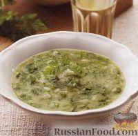 Суп-пюре из кервеля