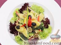 Салат с брокколи а-ля Нисуаз