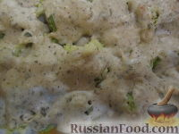 Цветная капуста под сливочным соусом с анчоусами и каперсами