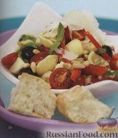 Итальянский салат из макарон