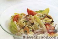 Неаполитанский салат из морепродуктов