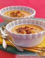 Суп-пюре из батата с луком