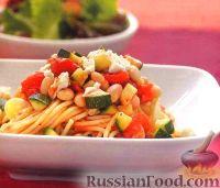 Спагетти с фасолевым соусом