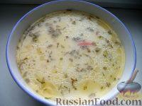 Сырный суп по‑французски, с курицей