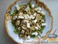 Салат испанский с оливками