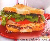 Сэндвич с тилапией
