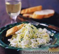 Капустный салат с крабовым мясом